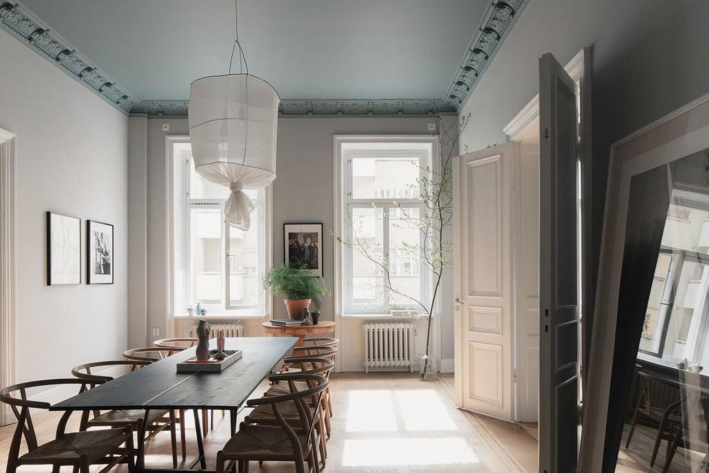 Måla taket – Wrede – Koncept Stockholm – Husligheter