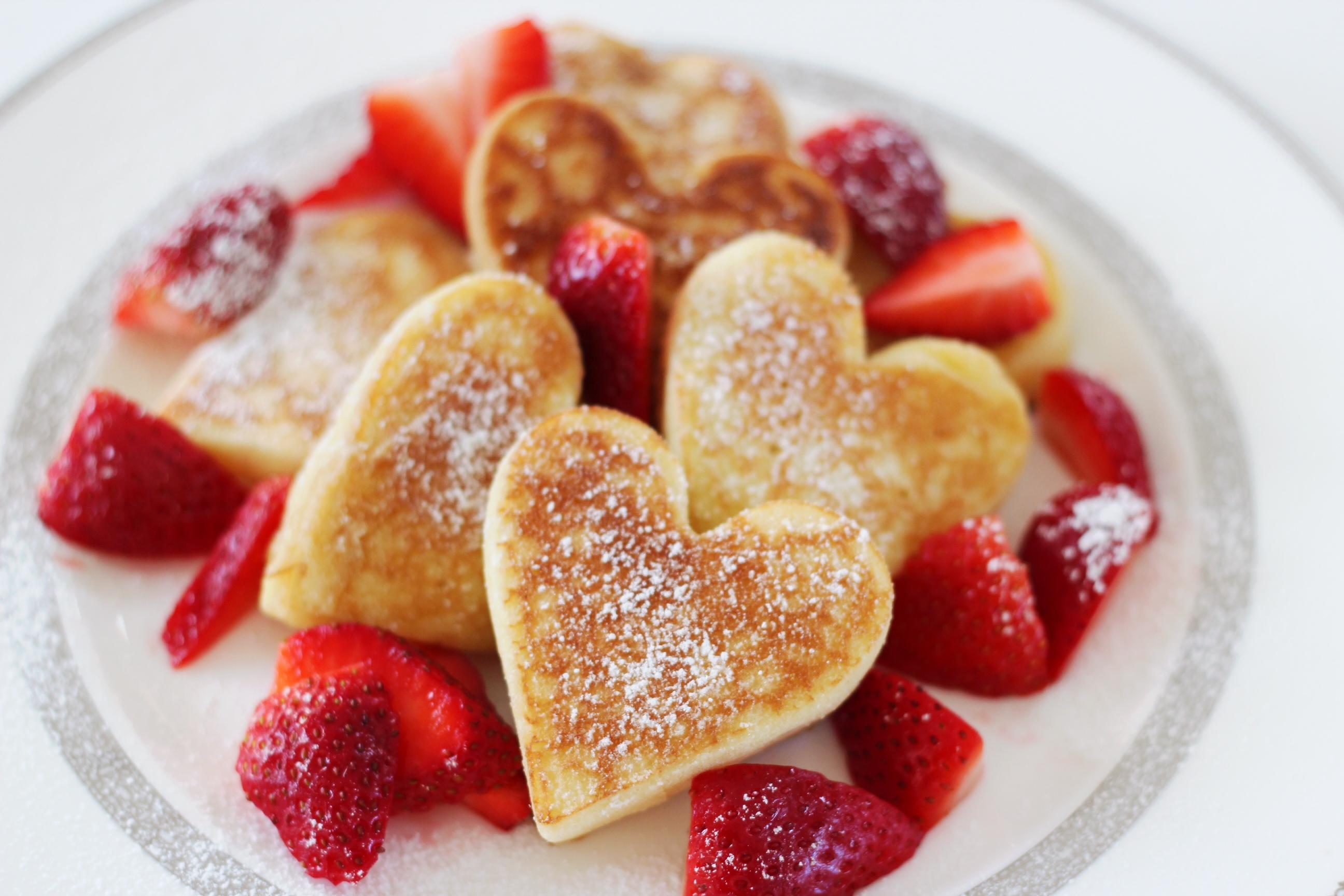 Pannkakshjärtan – Alla hjärtans dag – Husligheter