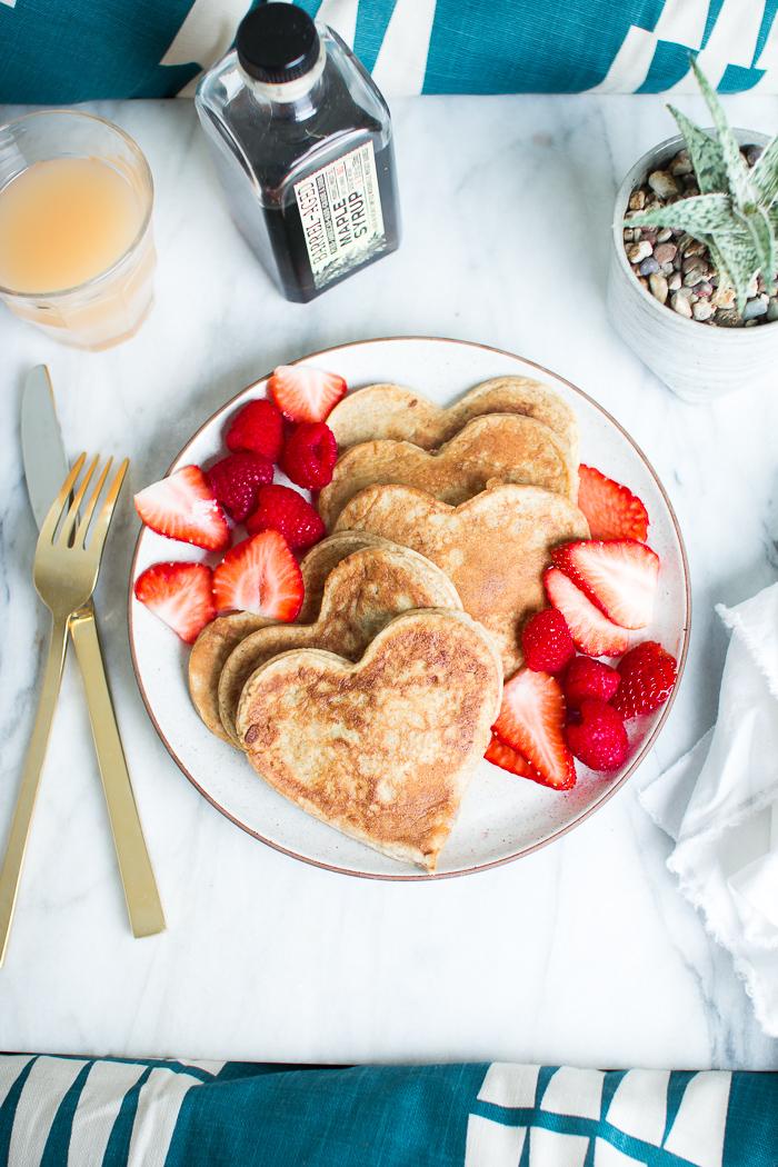 Hjärtformade pannkakor – Husligheter