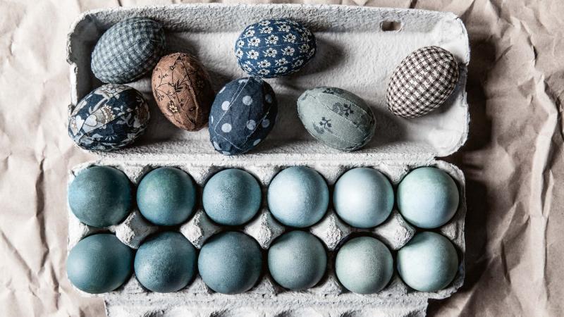 Blå påsk – Husligheter