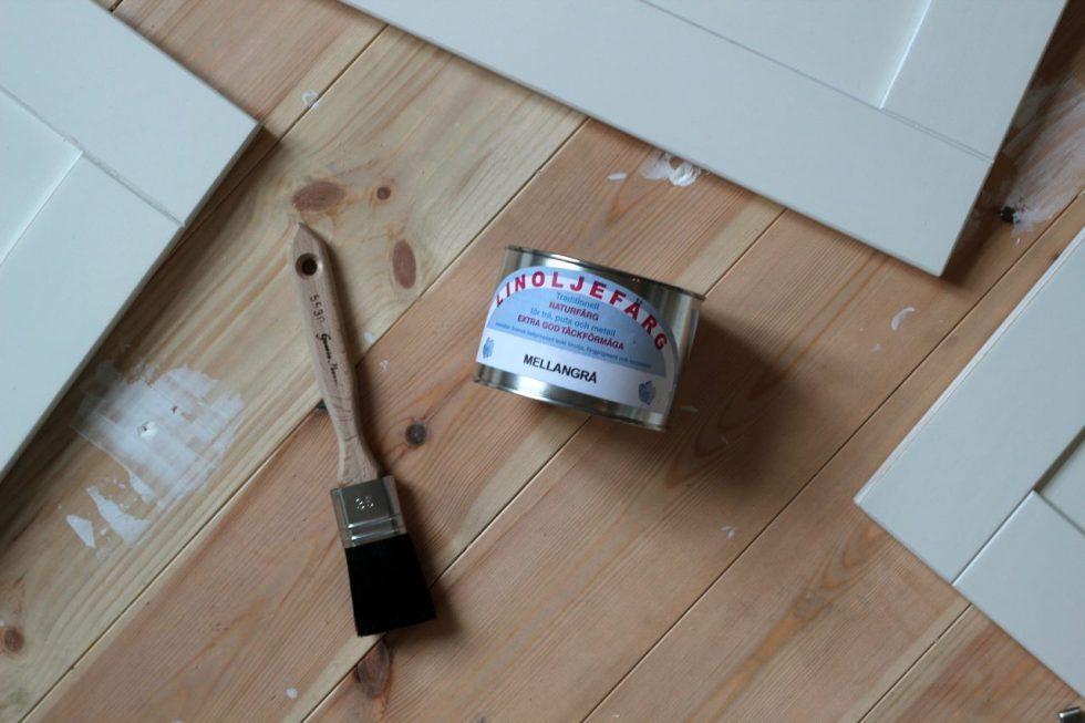 Måla köket med linoljefärg som Johanna Bradford – Husligheter