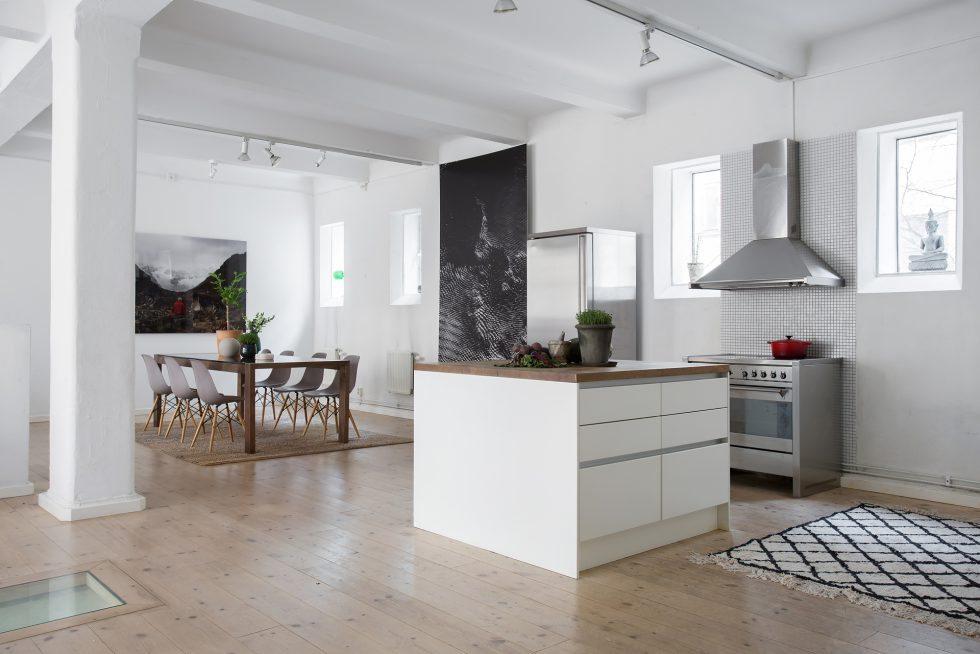 Mattor för att skapa rum i rummet i öppen planlösning – ESNY – Husligheter