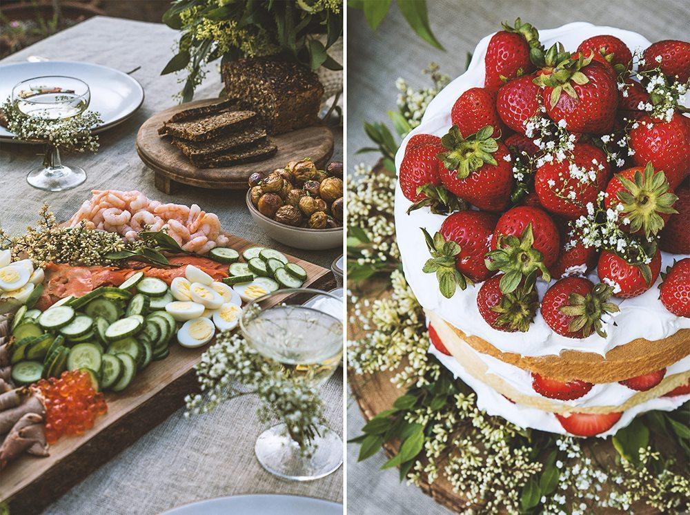 Servera på skärbrädor, tips för midsommardukning – Husligheter