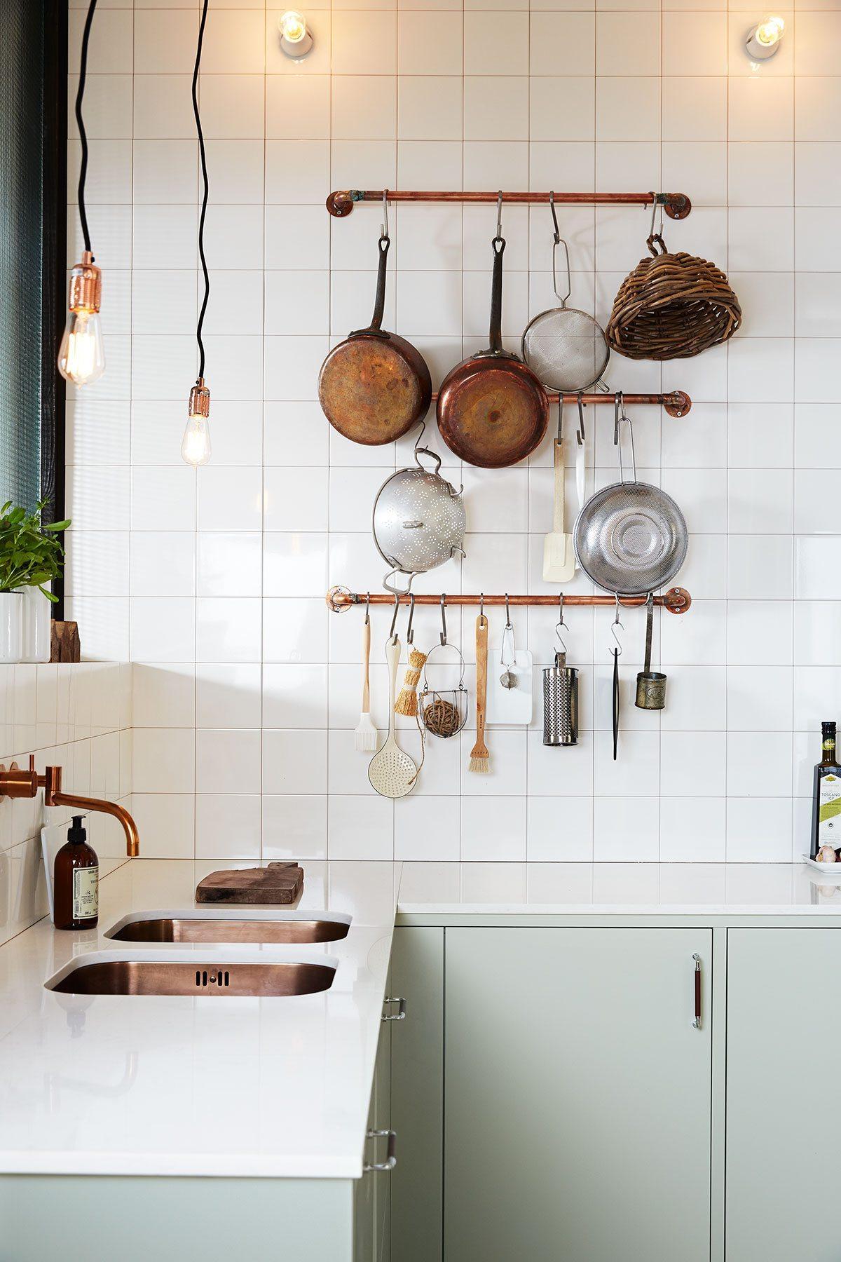 Öppen förvaring i kök, foto Ballingslöv – Husligheter