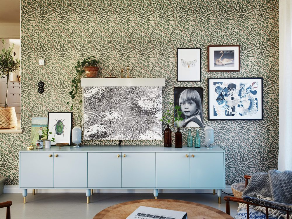 Hemma hos Emma von Brömssen, foto Carl Dahlstedt/Sköna hem – Husligheter