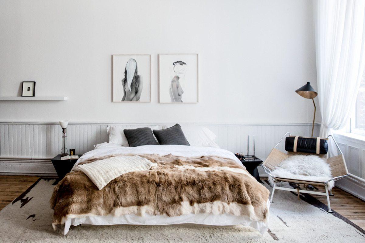 Stor matta i sovrummet, foto Aubrey Prick – Husligheter