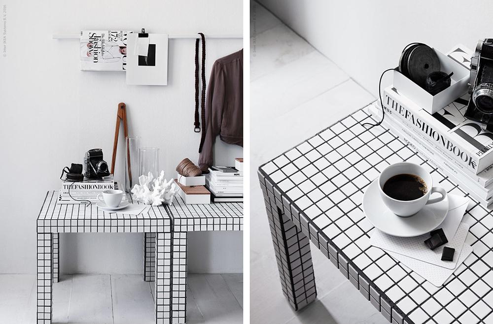 Soffbord av IKEAs Lack med mosaik – Husligheter