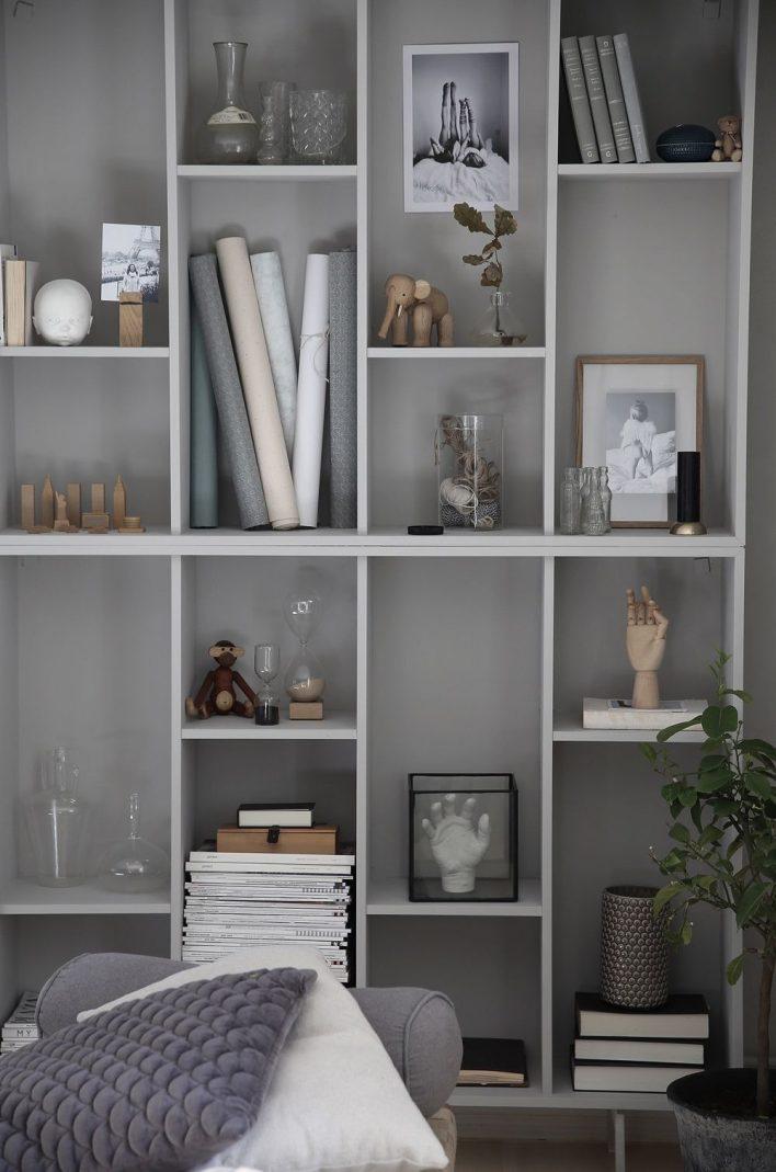 IKEA hack Valje bookcase by Anna Kubel – Husligheter