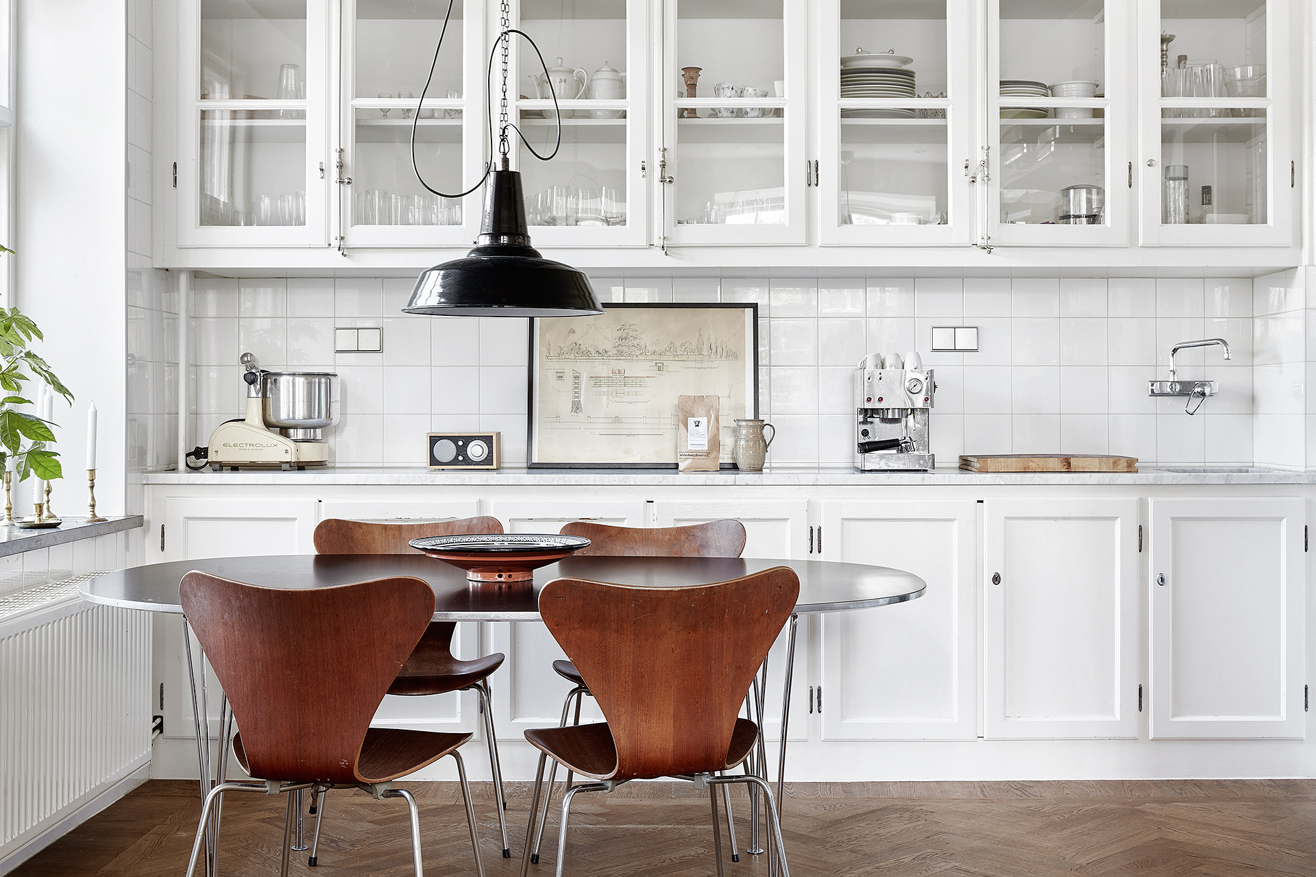 Köksinspiration: Stilkrock lantligt möter retro – Husligheter