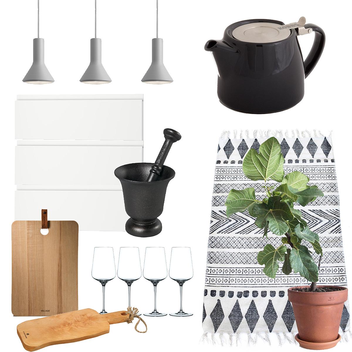 Sno stilen: Köksinspiration: Ett modernt, ljust kök med vita, släta luckor, marmorbänk – Fantastic Frank – Husligheter