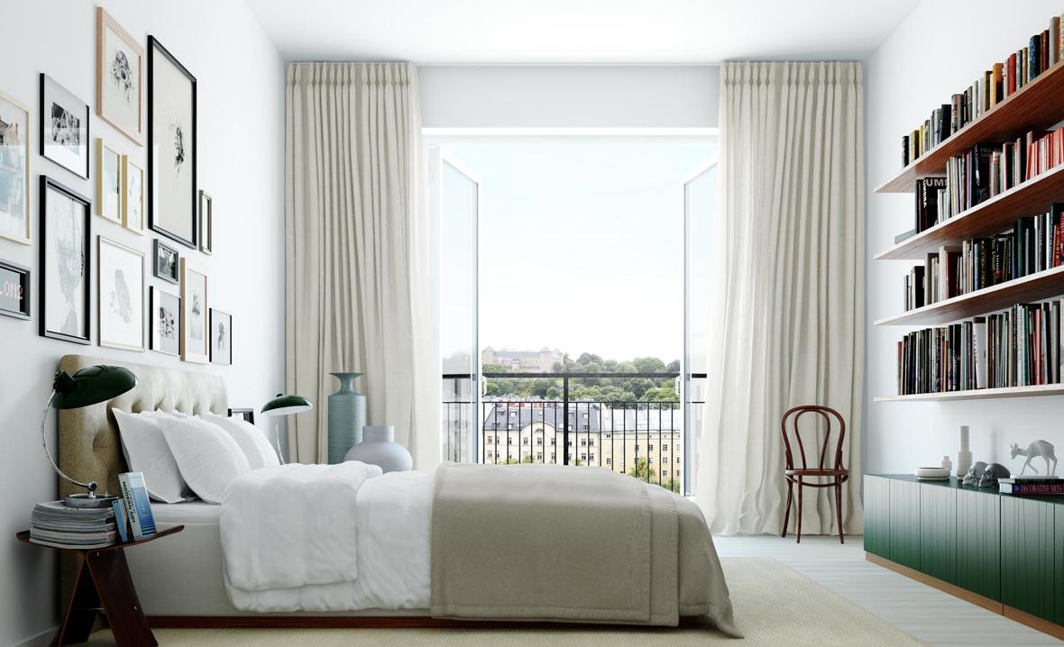 Hellånga gardiner hos Oscar Properties – Husligheter