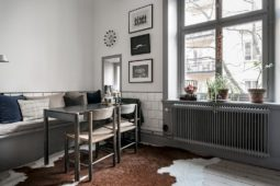 Platsbyggd sittbänk i köket – Husligheter