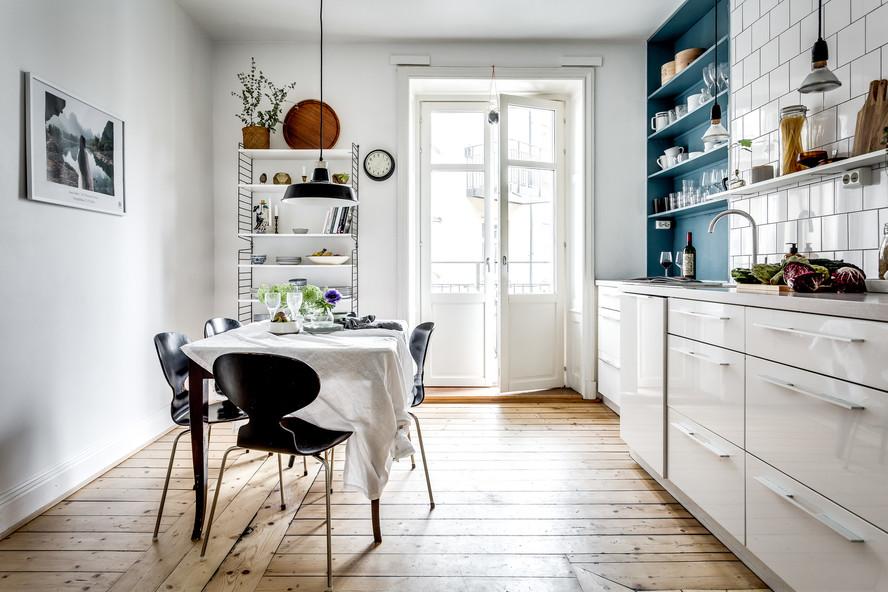 Smarta knepet för att göra det tidlösa köket trendigt