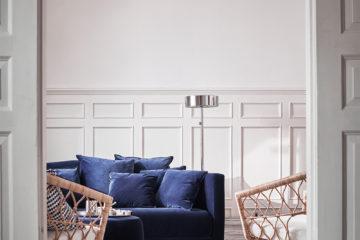 IKEA Stockholm 2017 blå sammetssoffa – Husligheter