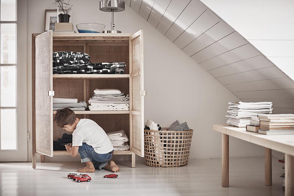 IKEA Stockholm rottingskåp – Husligheter