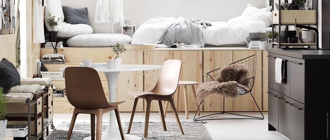 Compact living-inspiration från IKEA
