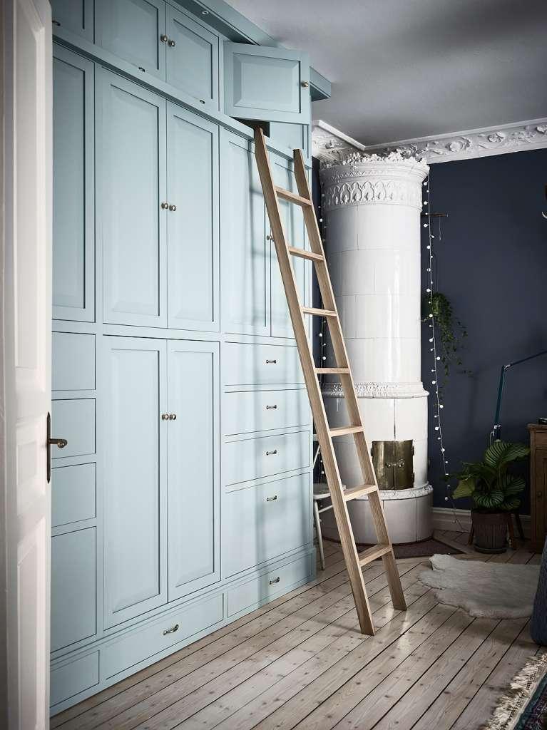 Inspiration för platsbyggd garderob
