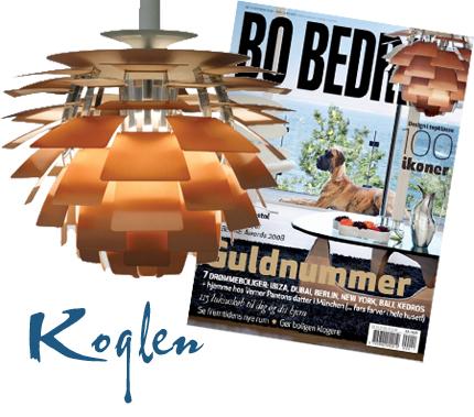 Poul Henningsen (ni vet, han med pH-lamporna) står bakom den här snyggingen, som kallas Koglen eller Artichoke. Jobbigt nog brukar den ligga runt 45 000 kronor, om man inte vill ha den i rent guld då priset blir sisådär det tiodubbla.