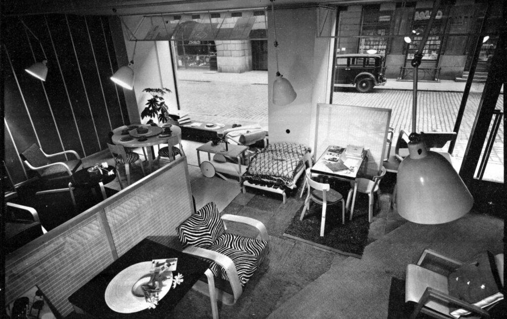 Artek butik Helsingfors 1936