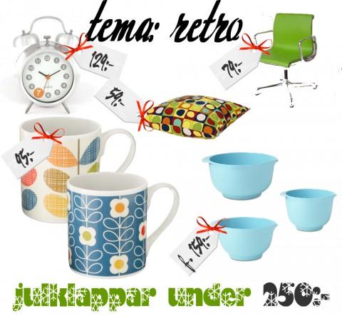 Glada färger och fina former under 250 kronor.
