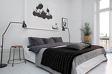 tavlor över säng
