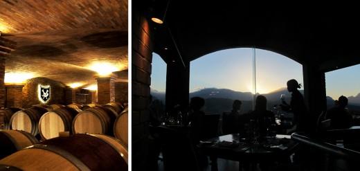 I vinstaden Franschhoek betade vi av tre vingårdar och inte mindre än 18 otroligt läckra viner på en förmiddag. Där hade jag också en av mitt livs härligaste restaurangupplevelser – zebrastek på vingården Dieu Donné som har en alldeles sagolik utsikt över dalen i solnedgången.