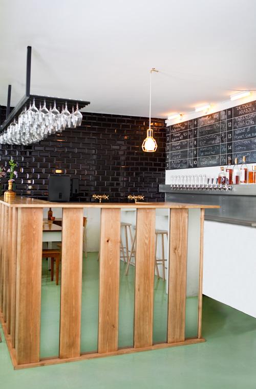 Mikkeller bar i Köpenhamn – inget fult ställe.