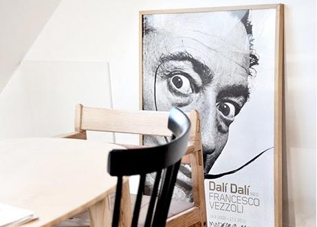 Läcker affisch från en utställning på Moderna museet.