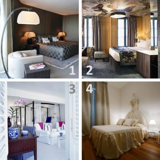 Kan du lista ut vilken designer som designat vilket hotellrum?