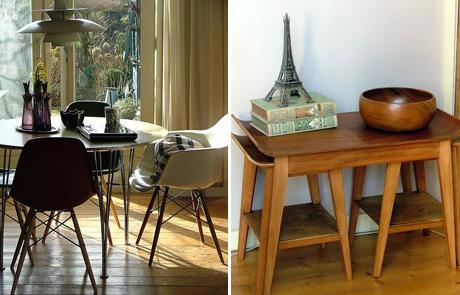 Älskar lilla Eiffeltornet på bokhögen, väldigt snyggt!