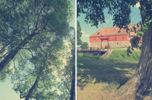 Efter lite glo-upp-i-träden var det dags att promenera runt Gripsholms slott. (Eller nej, först var det minigolf, men eftersom jag förlorade med fem slag trots två spikar på tolv hål så finns det inga som helst bildbevis på detta.)