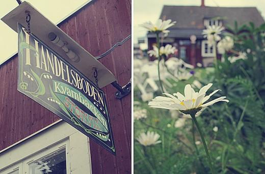 Där låg det också ett litet museum, och prästkragarna blommade för fullt.