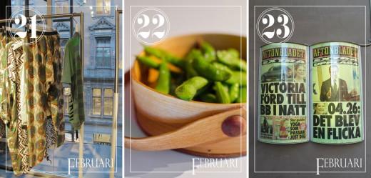 Pressträff för H&M/Marnis superfina kollektion, lite kvällssnacks i form av edamamebönor med flingsalt och så månadens största nyhet förstås.