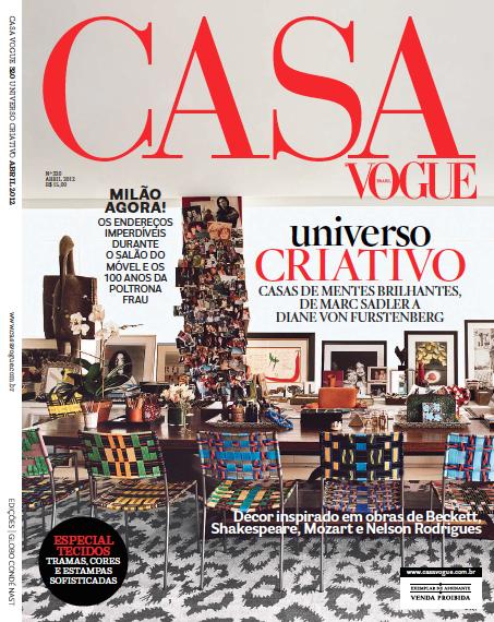 Brasilianska Casa Vogues senaste nummer.