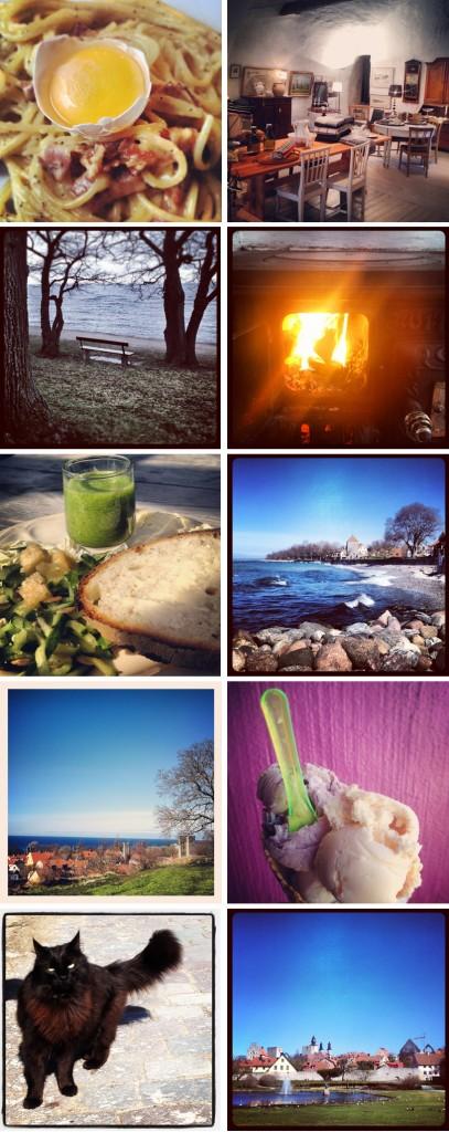 Några snapshots från dagarna på Gotland. Foto: Maria Soxbo/Husligheter