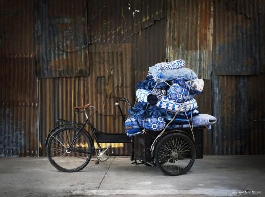 Kollektion Blå som Lycke arbetat med. Foto: IKEA