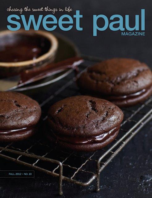 Omslaget till Sweet Pauls höstnummer 2012.