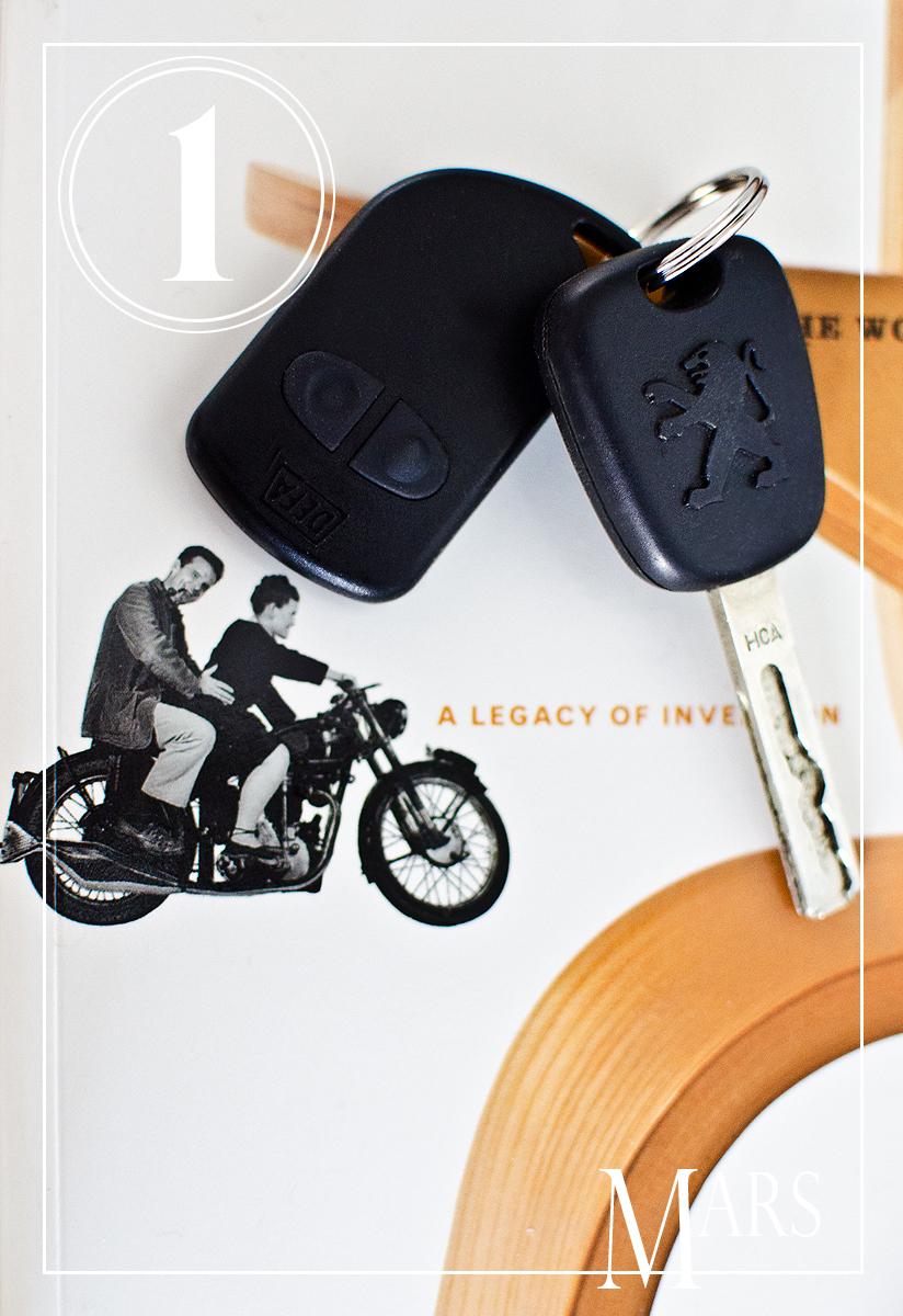 """Keys to our """"new"""" car – Husligheter.se"""