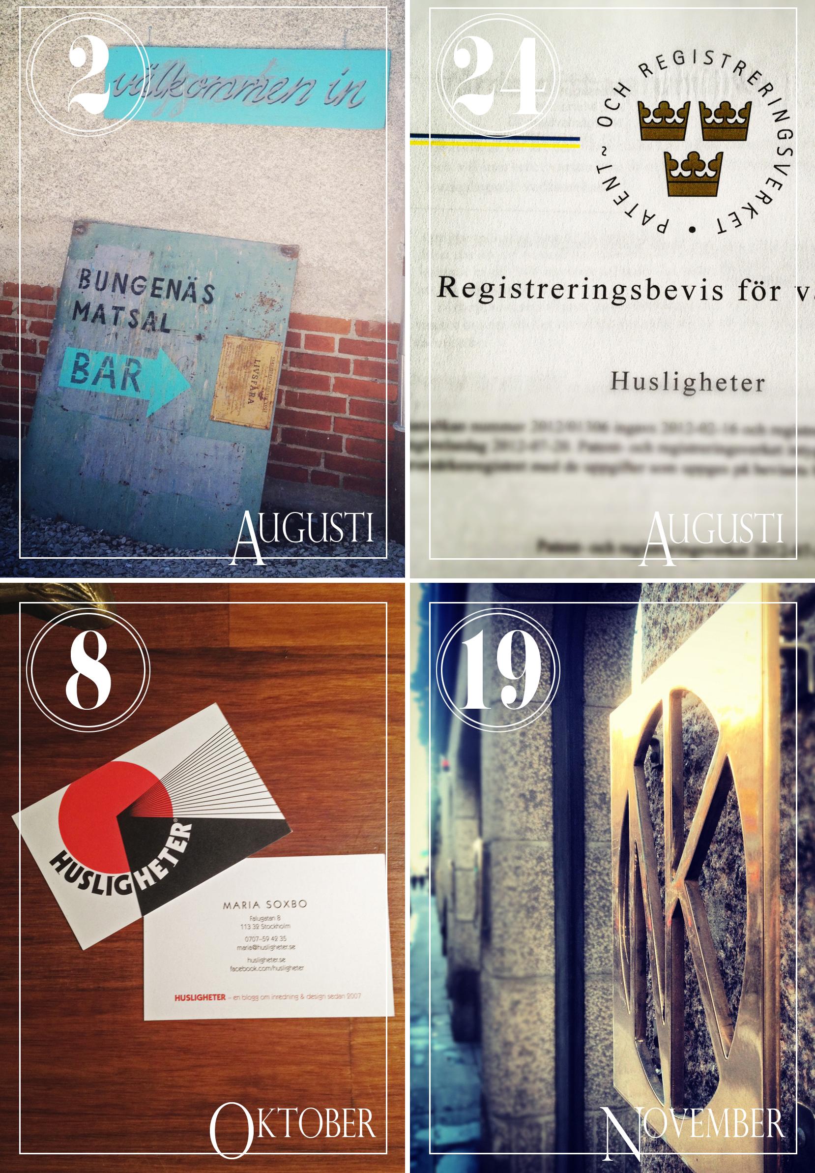 Work achievements 2012 – Husligheter.se