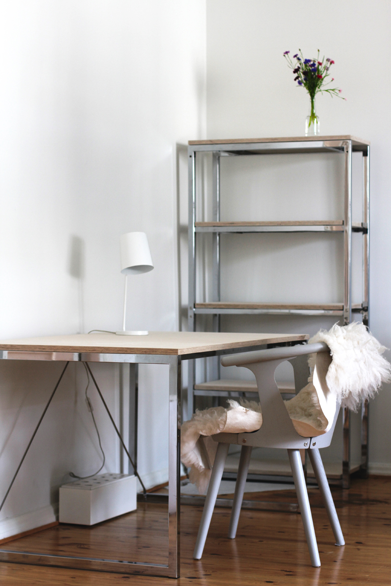 Before and after working space (Raw design blog) – Husligheter.se