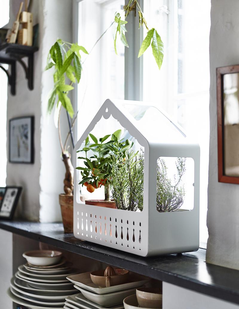 Ett litet växthus från IKEA PS 2014. Foto: Pressbild IKEA