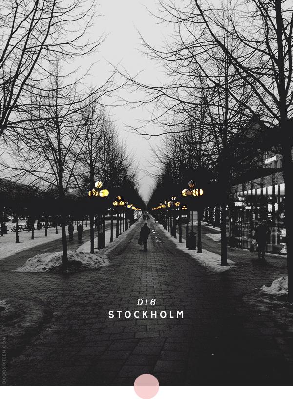 Stockholmsguide, part 1. Foto: Från bloggen Door16