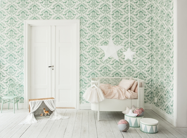 Fabel wallpaper by Photowall (Photo: Sofia Jansson/Mokkasin) – Husligheter.se