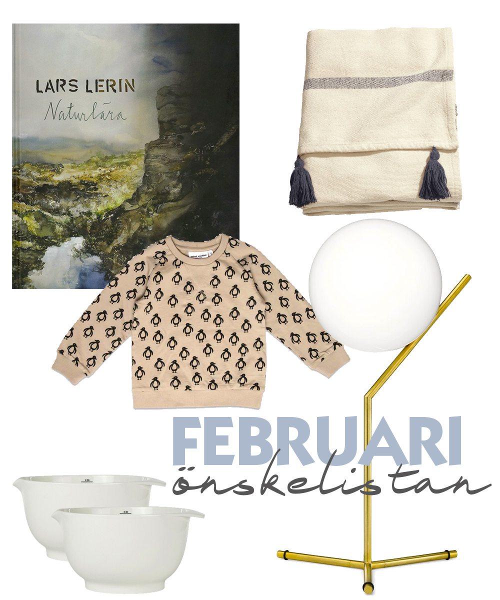 Min önskelista för februari – Husligheter.se