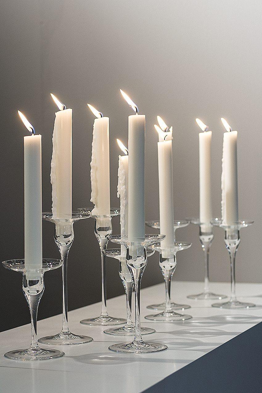 Vackra vita ljus ska vara av stearin, inte paraffin.