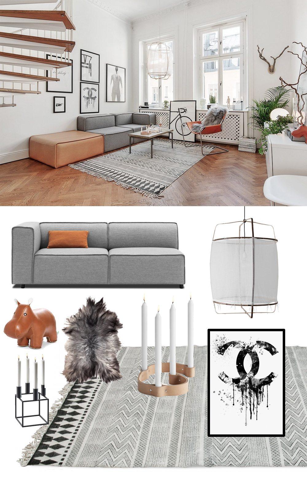 Sno stilen: Vardagsrum – Husligheter.se