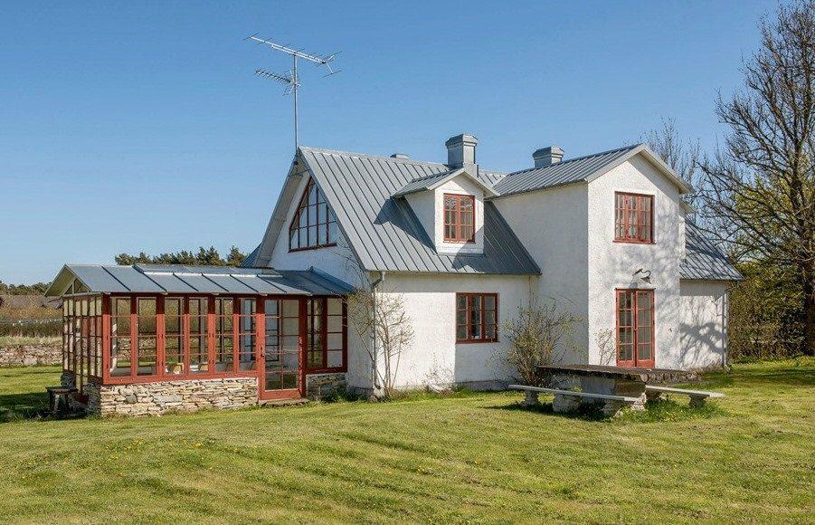 Felix Herngrens hus på Gotland – Husligheter