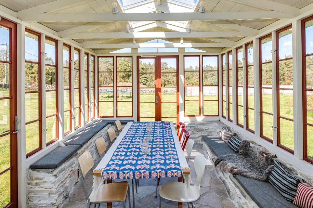 Felix Herngren hus på Gotland orangeri – Husligheter