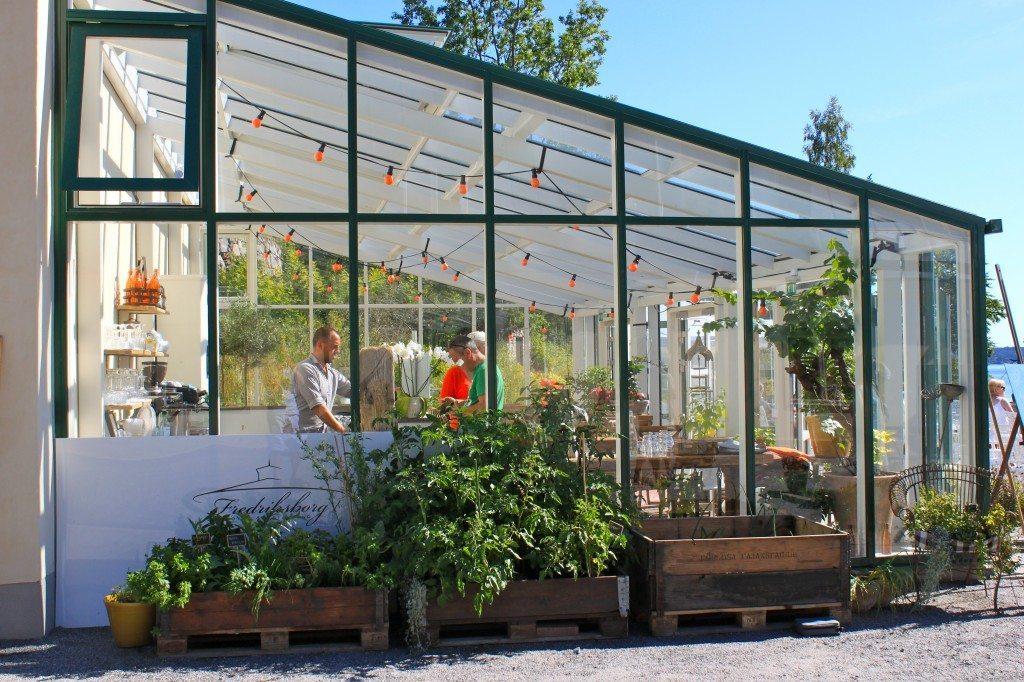 Orangeri Fredriksborg – Husligheter