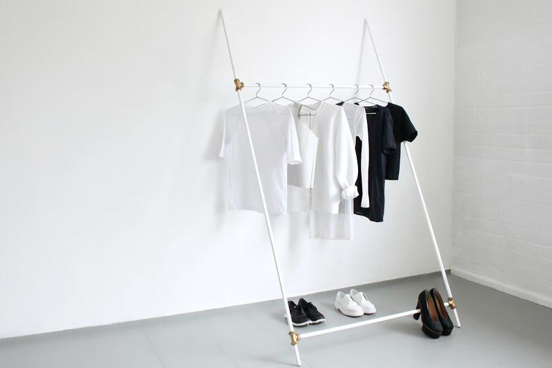 DIY clothing rack by Love aesthetics – Husligheter